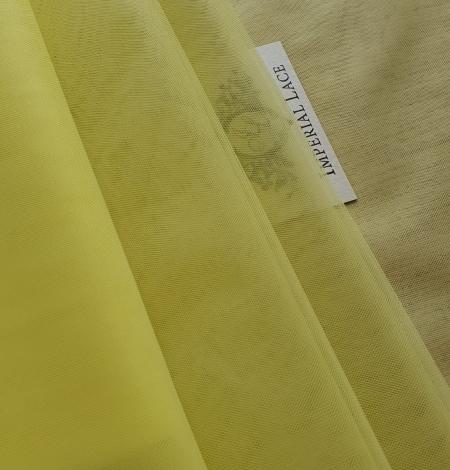 Yellow tulle fabric. Photo 1