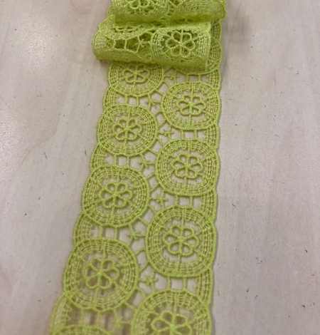 Green lace trimming. Photo 4