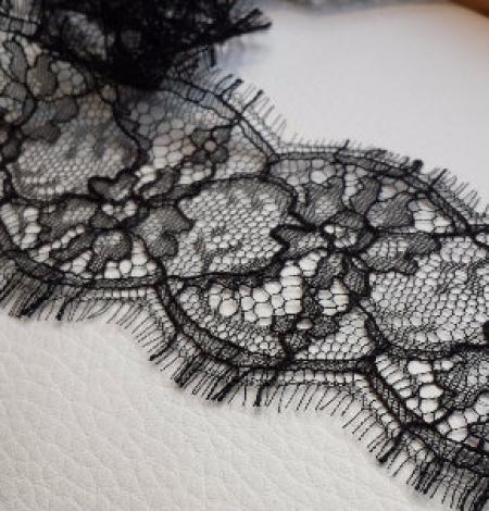 Solstiss black Lace trim. Photo 2