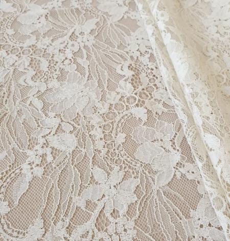Ecru guipure lace fabric. Photo 2