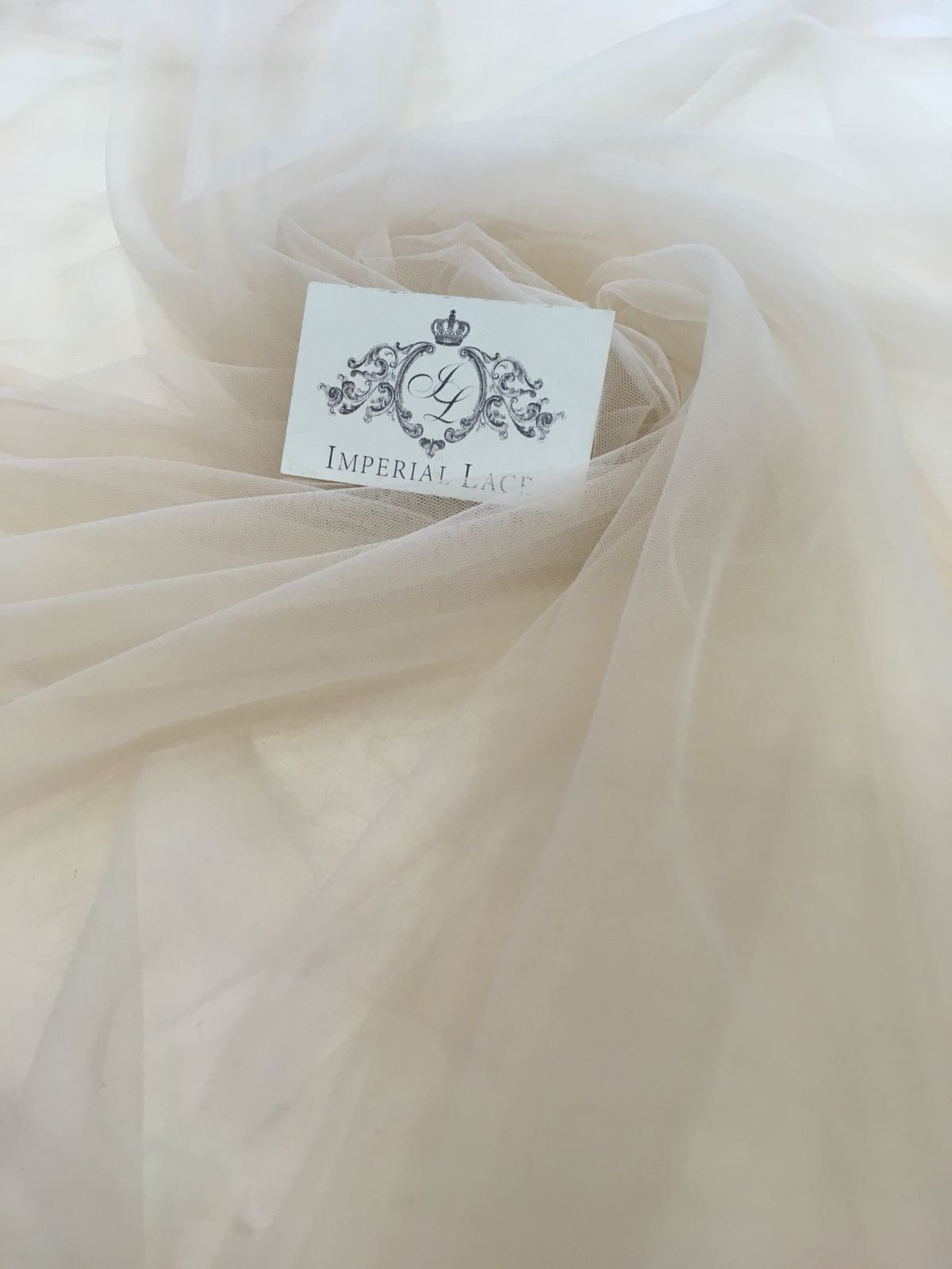Beige Tulle Fabric Tulle Lace Fabric From Imperiallace Com